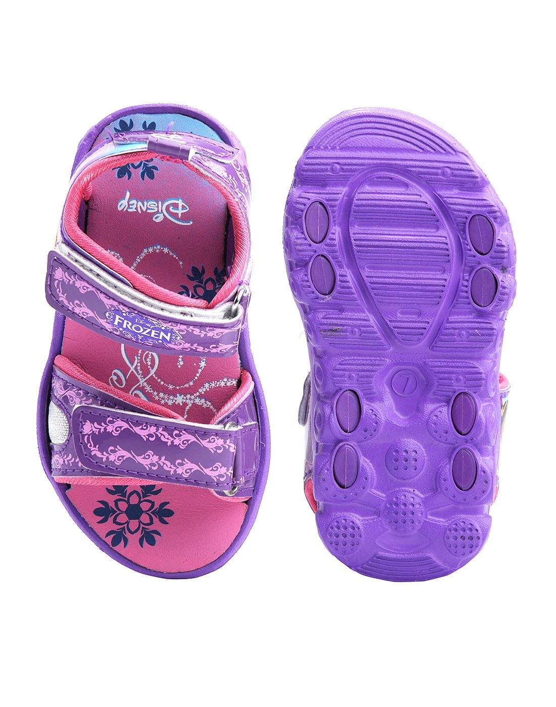 e71ea5801bb4b Disney D001 Girls Violet Frozen Sandal | Choose Best Pair of Kids ...