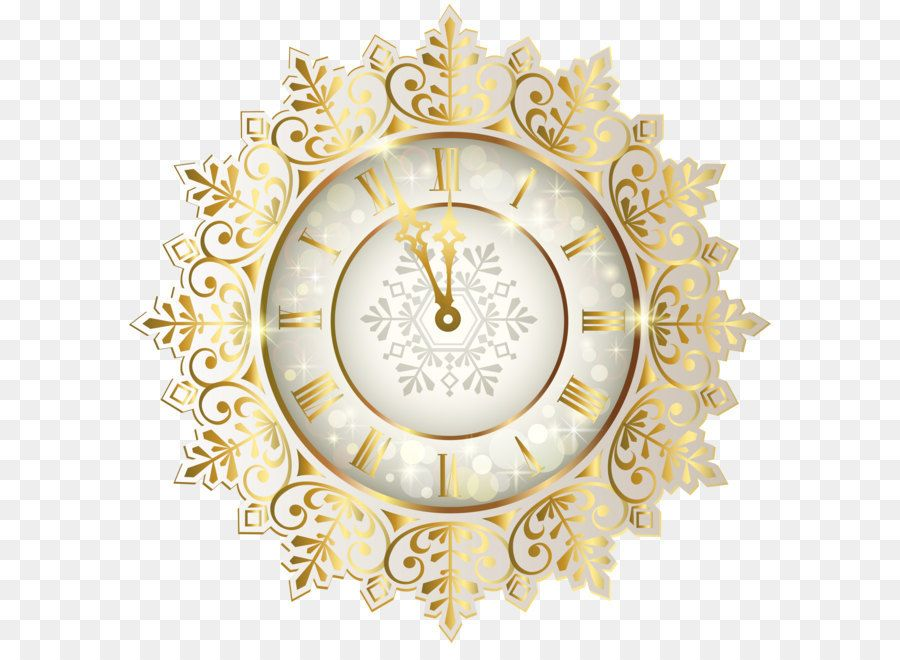 Clock Of The Long Now New Year Clip Art Gold New Year Clock Png Clipart Image New Year Clock New Years Background Clip Art