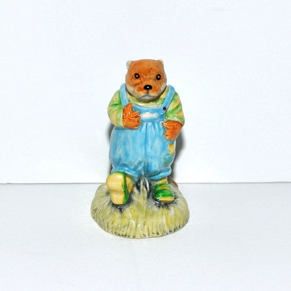 "Jan Hagara Figurines For Sale: Royal Albert ""The Wind In The Willows"" Portly Figurine"