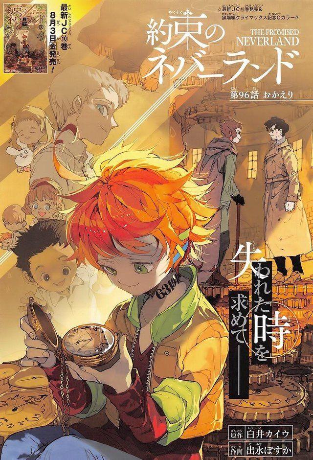 The Promised Neverland Color Page Manga Neverland Art Anime Wall Art Neverland