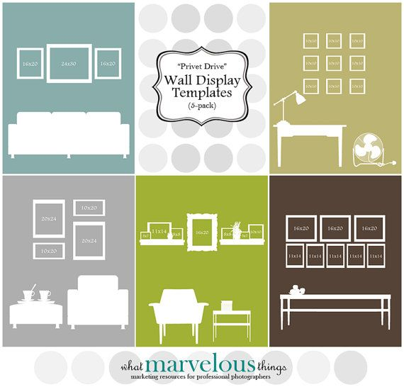 Wall Display Templates - \