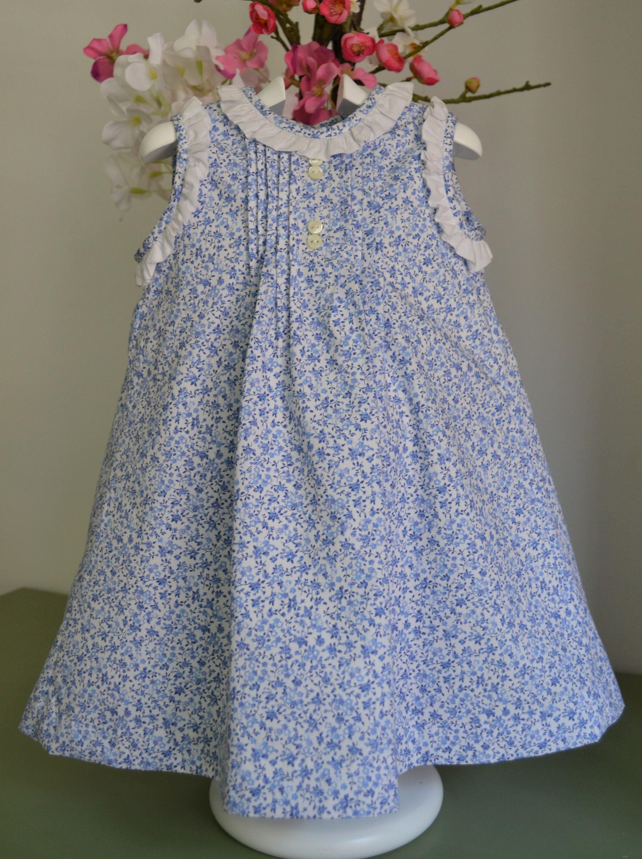 25e2a06a4 Vestido pichi en algodón estampado