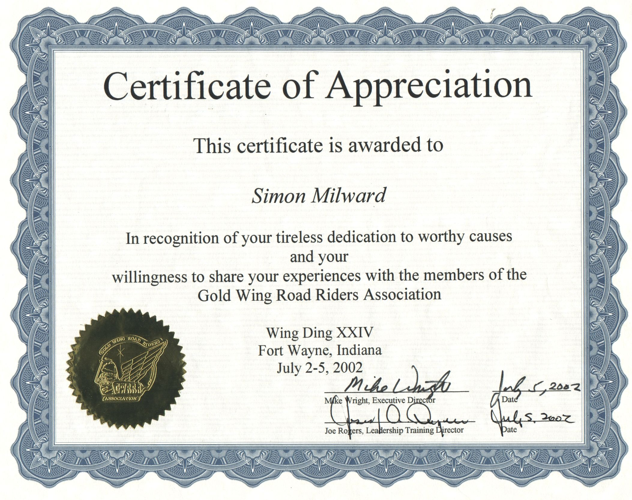 Examples Of Certificates Of Appreciation Wording Certificate Of Recognition Wording  Examples   Template . And Certificates Of Appreciation Wording Samples