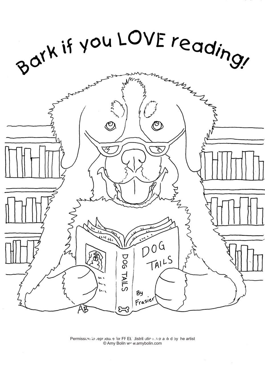Free Coloring Sheet Download Dog Tails Vol 4 Bark If You Love