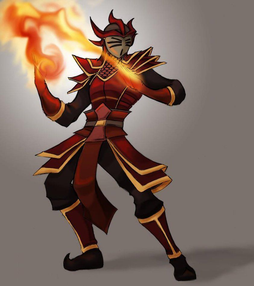 Firebender OC Ocra, the Dragon of the East