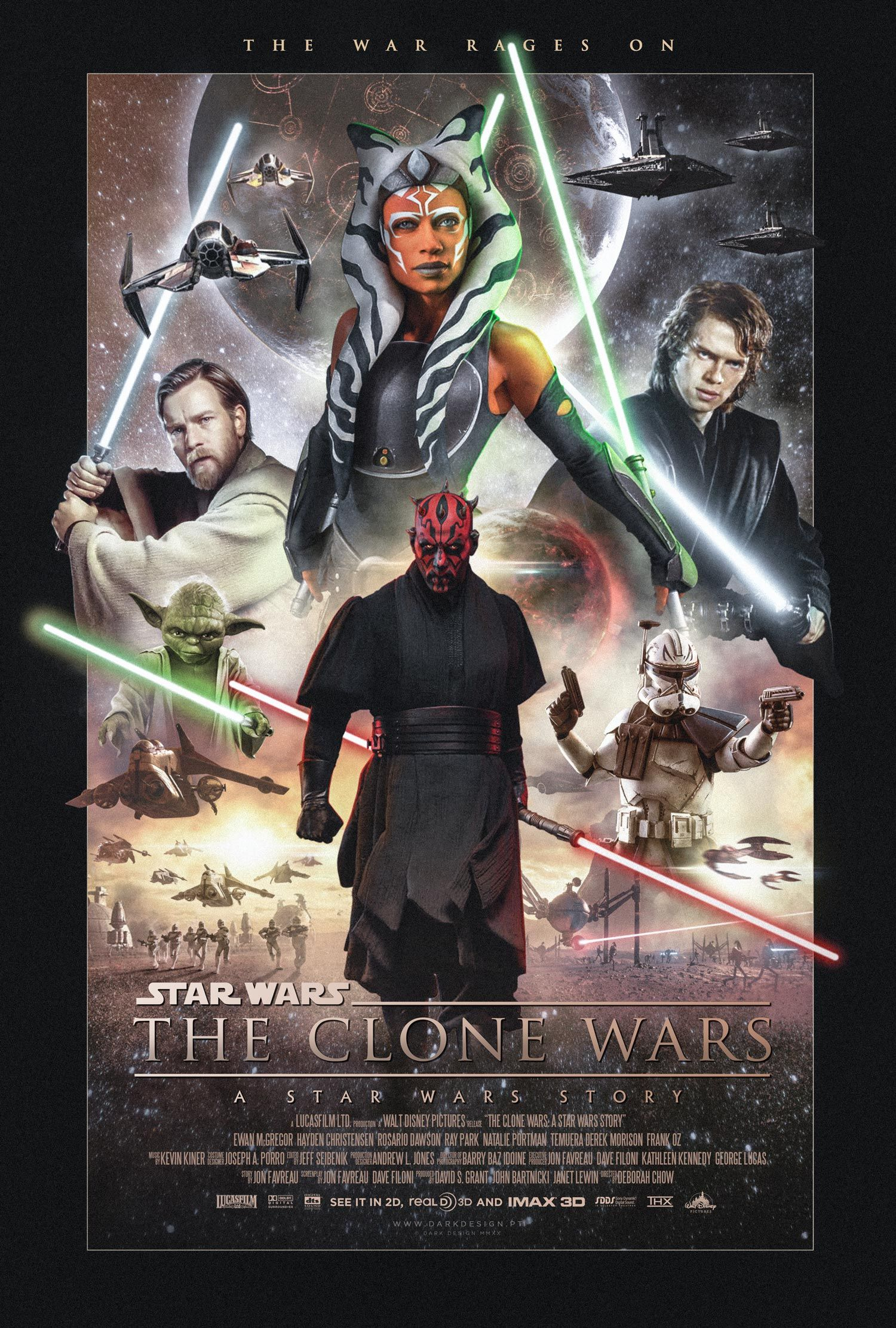 The Clone Wars: A Star Wars Story - PosterSpy