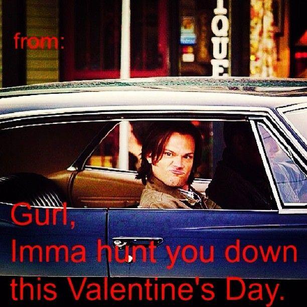 Supernatural valentine I honestly wouldn't mind getting.
