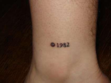 I Like This Birthday Copyright Tattoo Tattoos Pinte
