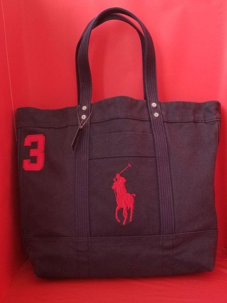 19e08bfa43ae Ralph Lauren Polo Sport Tote Bag. Blue. New With Tags.  fashion ...