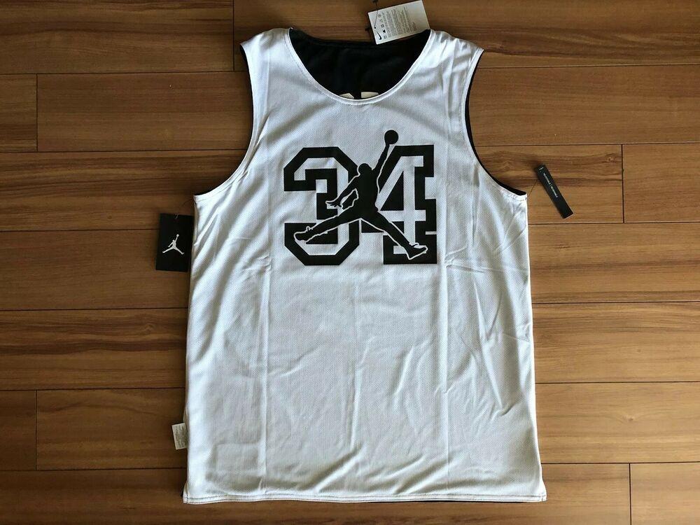 Air Jordan /'He Got Game/' Reversible TANK BLACK//WHITE US MENS SIZES AR1257-010