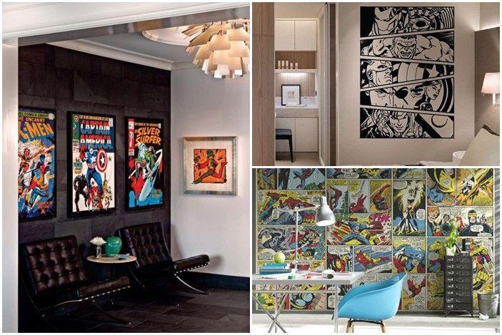 10-marvel-avengers-wall-decor-ideas (9) Home decor ตกแต่งบ้าน
