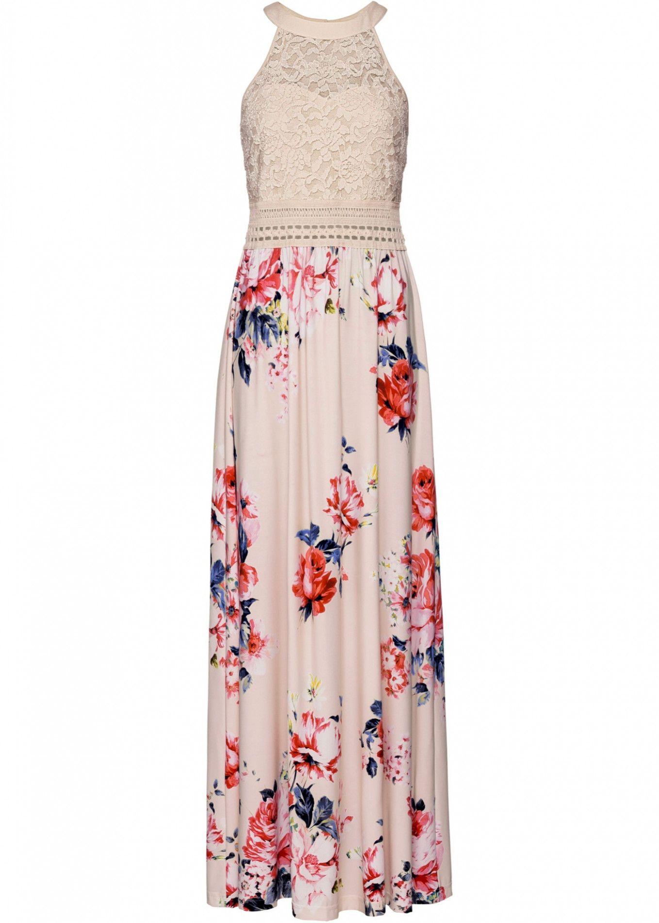 15 Sommerkleider Größe 52 in 2020  Maxi kleider sommer, Maxikleid mit blumen, Sommerkleid