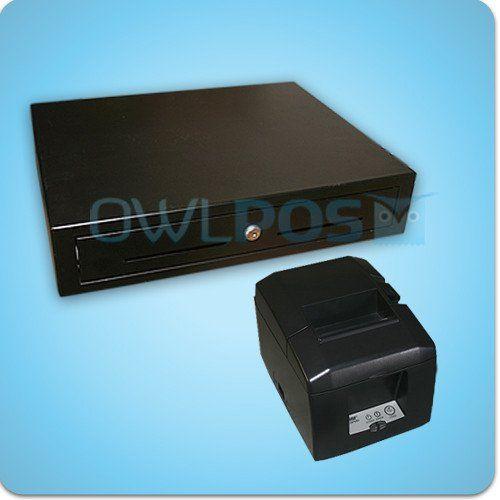 Square Stand Hardware Bundle Tsp654iiu Receipt Printer And Cash Drawer Tsp650ii Usb Printer Usb Drawer Hardware