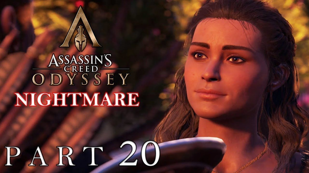 Assassin S Creed Odyssey Walkthrough Stealth Nightmare Pc Part