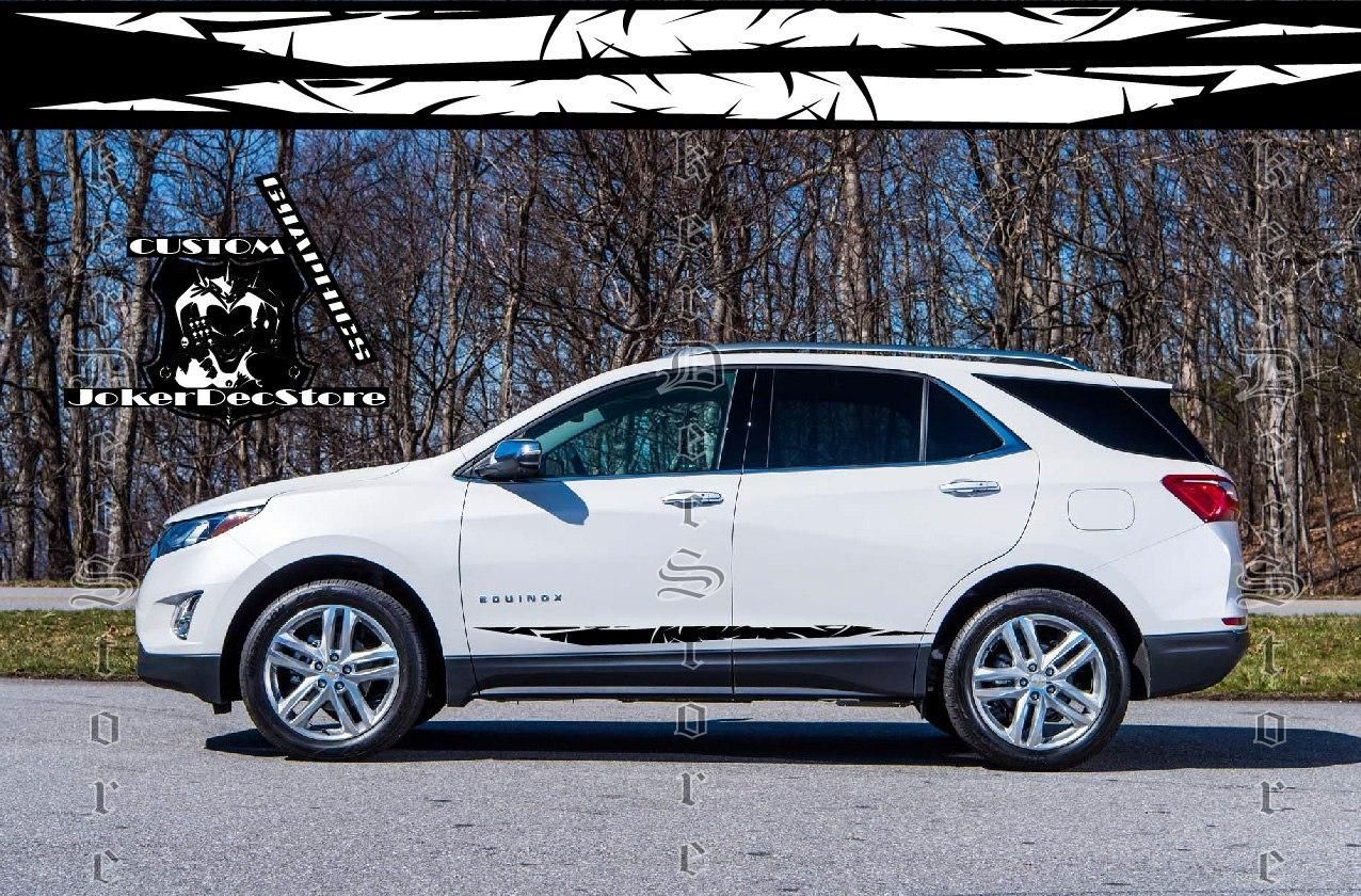 Beautiful Design Vinyl Stripes Chevy Equinox Accessories Etsy In 2020 Chevrolet Equinox Vinyl Car Stickers Chevrolet