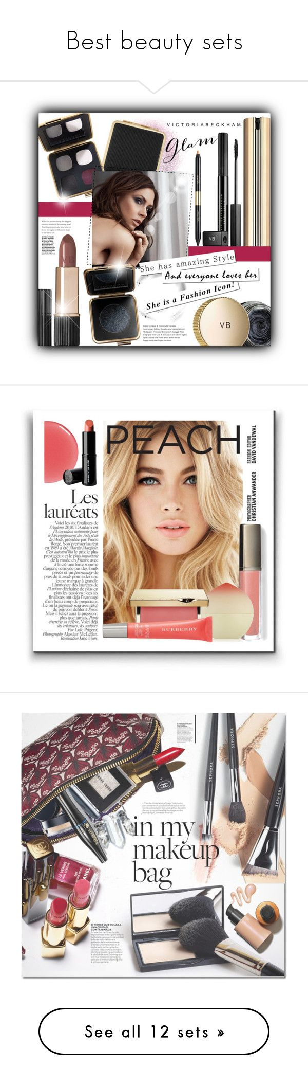 """""""Best beauty sets"""" by pugovka liked on Polyvore featuring"""