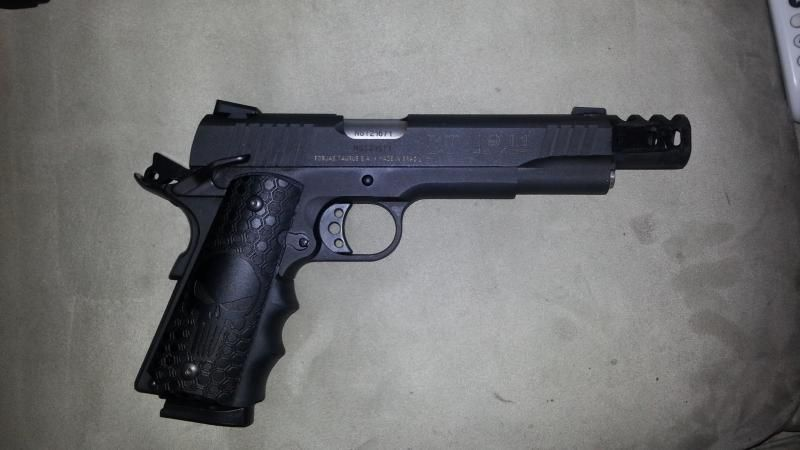 Taurus PT-1911 FS Pistol  45 ACP 5in 8rd Black Model 1