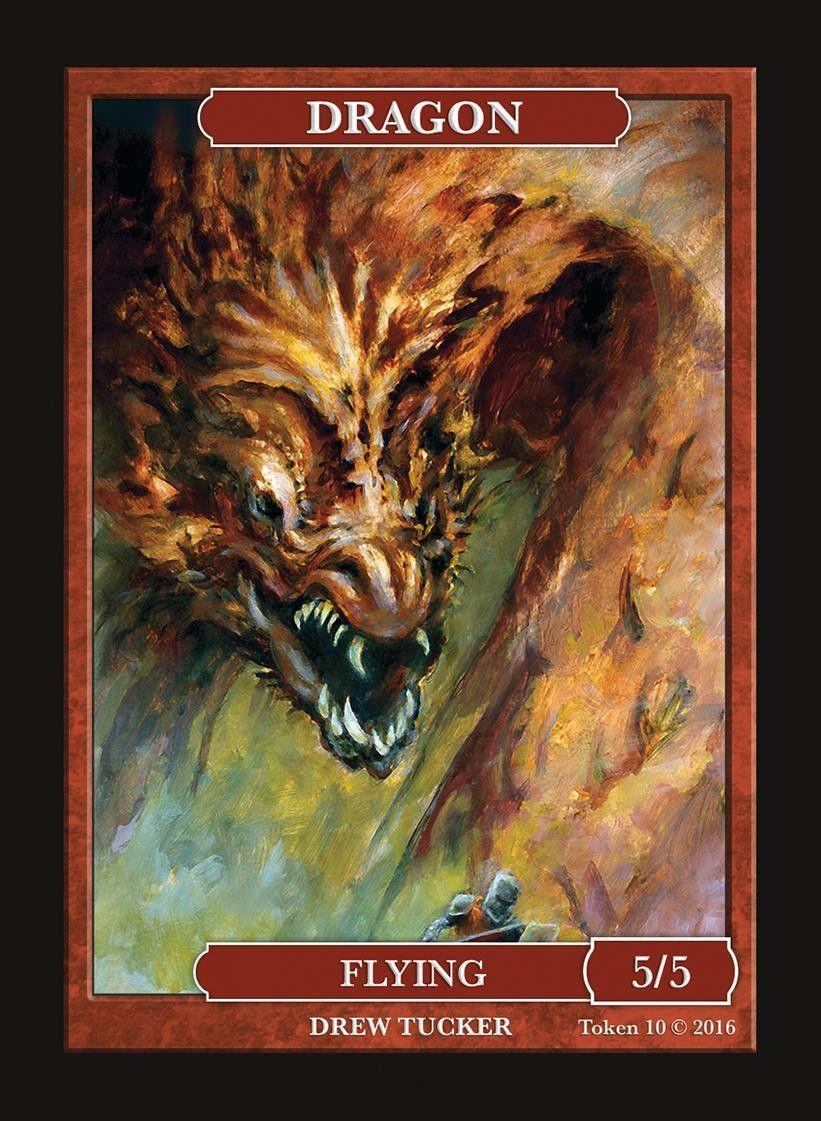 4x Dragon Token 5//5
