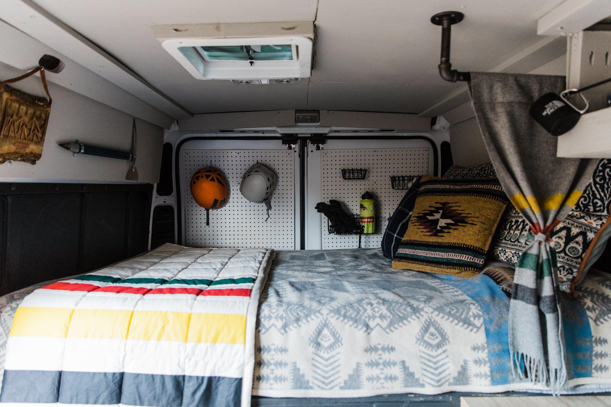 Van Life In Moab Utah Our Van Tour Van Life Adventure
