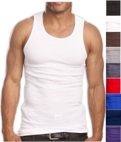 8f3f68055951 ToBeInStyle A-Shirt Tank Top Undershirt Wife Beater Vest | My Style ...