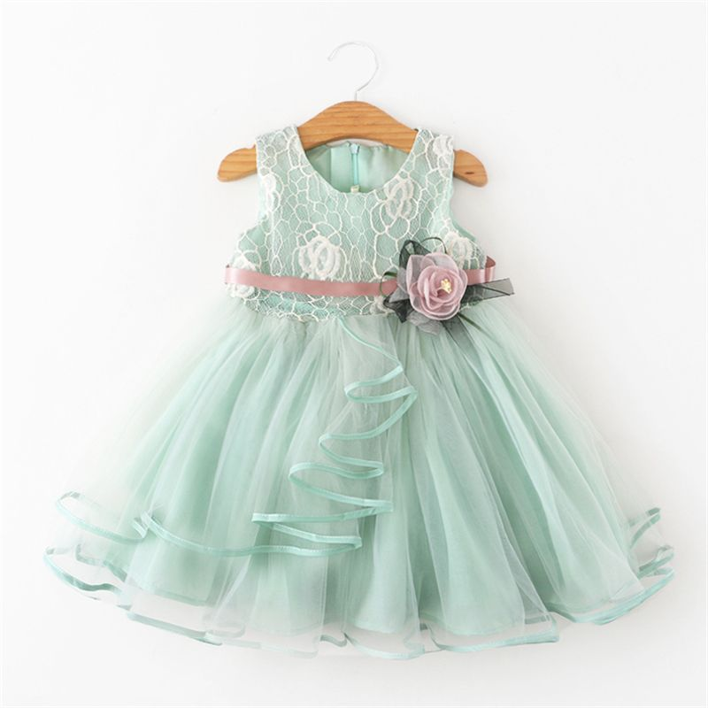 Girls cotton dresses 2-3-4-5 years old Dress Princess Party tutu summer