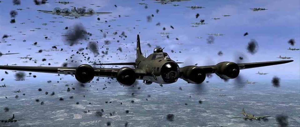 B-17 air raid