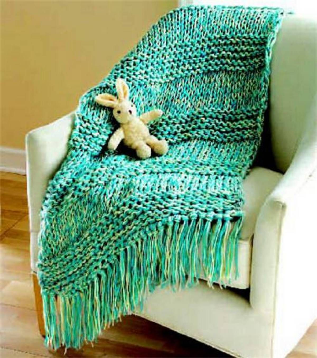 Quick u easy throw at joann projects to try pinterest knit