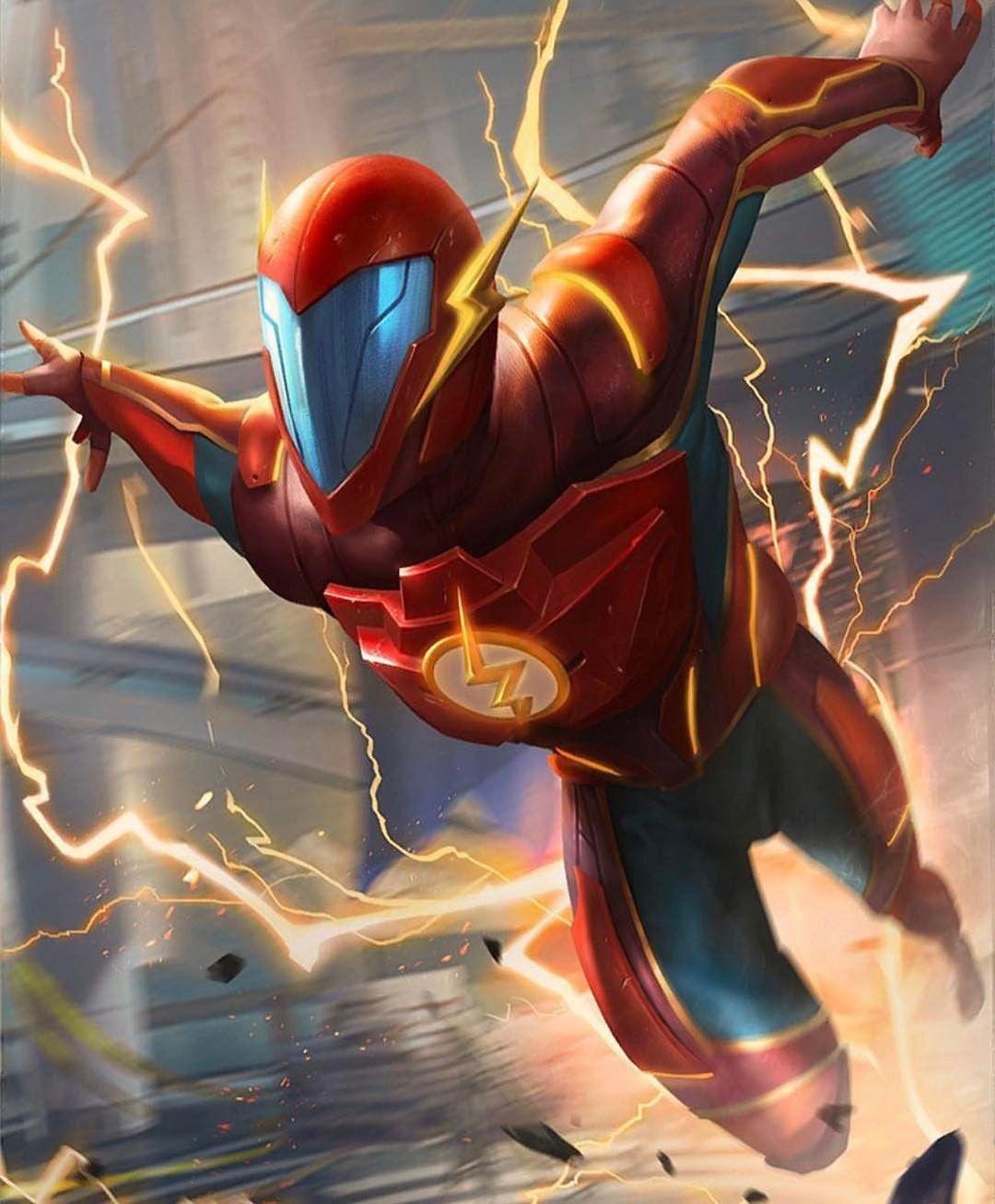 Injustice 2 Flash Artwork Comicsandcoffee