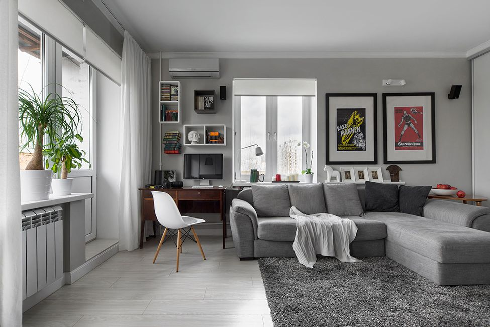 Best Neutral Coziness Compact Bachelor Haven In Moscow Defined 400 x 300