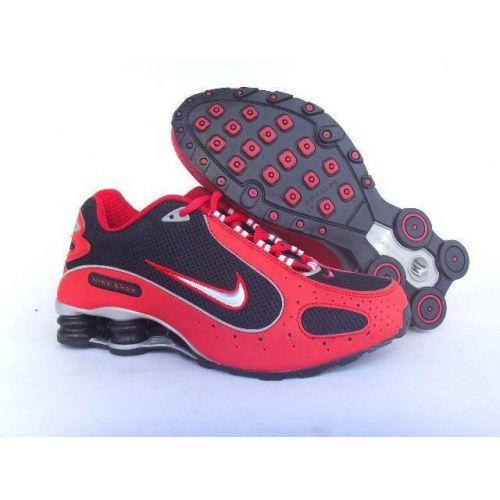 Nike Shox Monster Red Black White Men Shoes $79.59