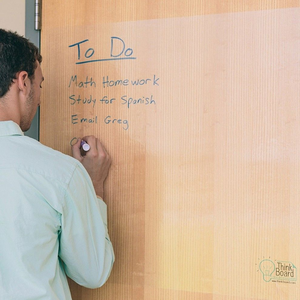 This Dry Erase Film You Can Put On Any Surface Dry Erase Board