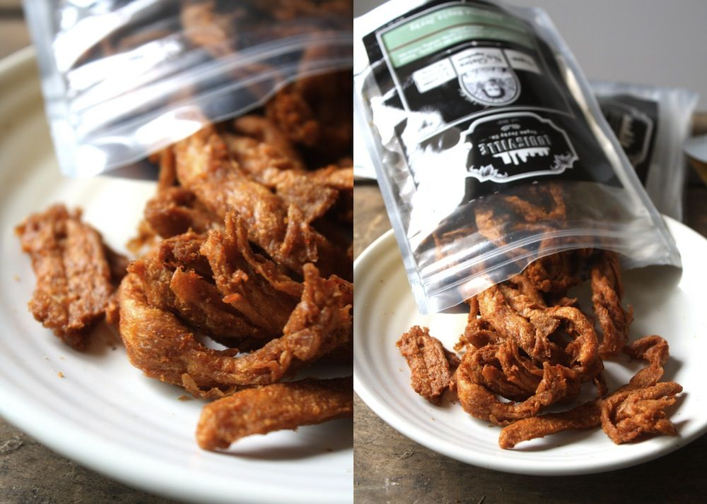 Louisville Vegan Jerky, the BEST jerky EVER WITHOUT the