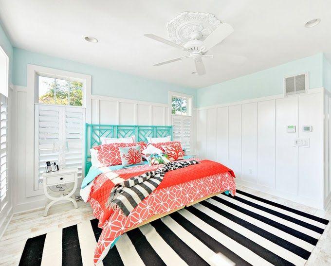 stunning coral beach bedroom | Echelon Custom Homes | Beautiful Bedrooms | Coral bedroom ...
