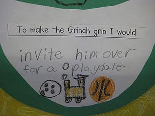To make the Grinch smile...