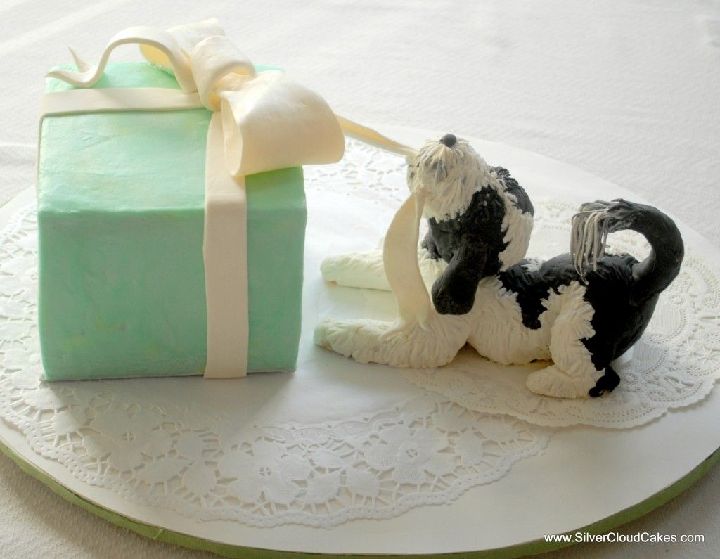 Dog cake by Silver Cloud Cakes Tartas perros