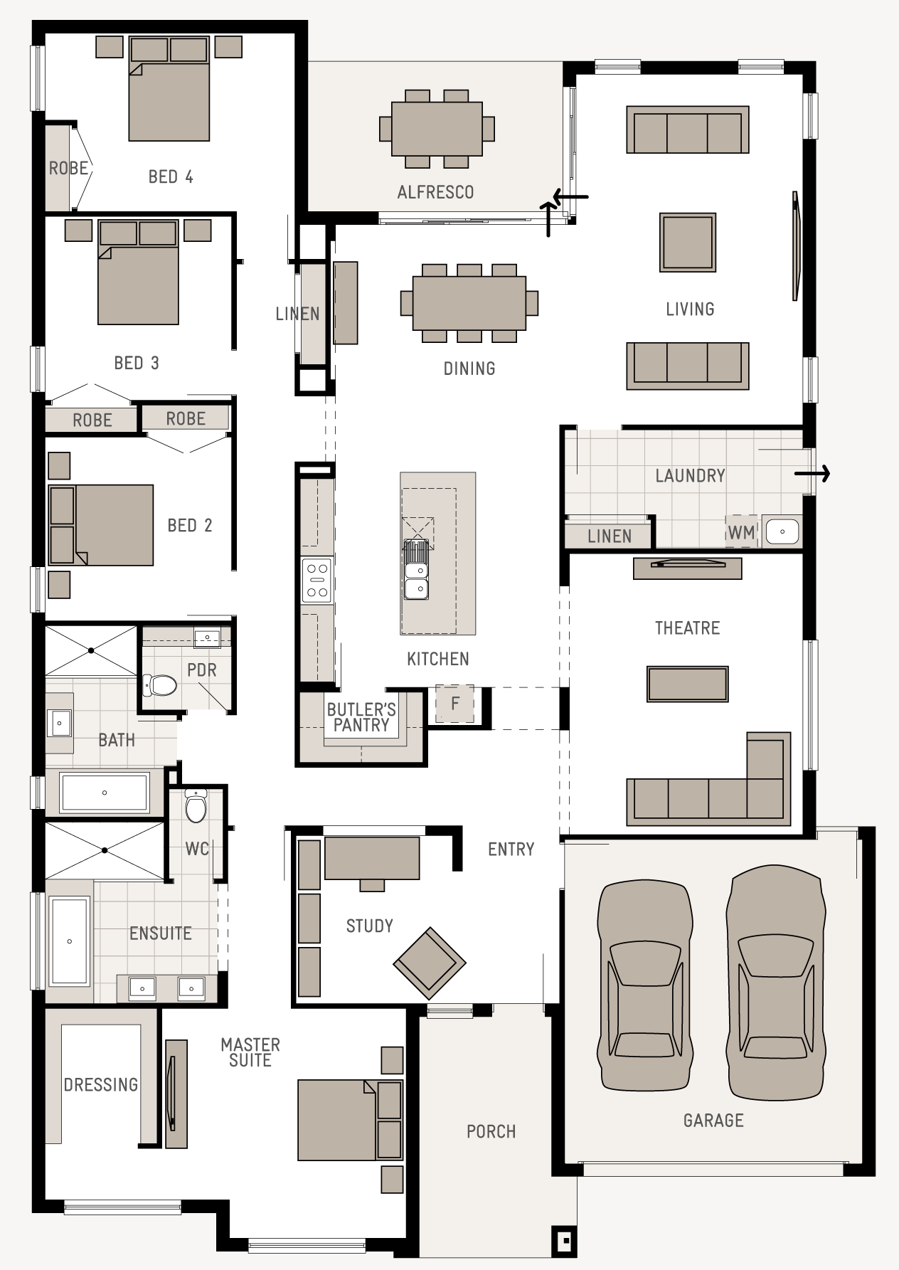 Floor Plan Friday Good Use Of Space Dream House Plans House Blueprints House Plans