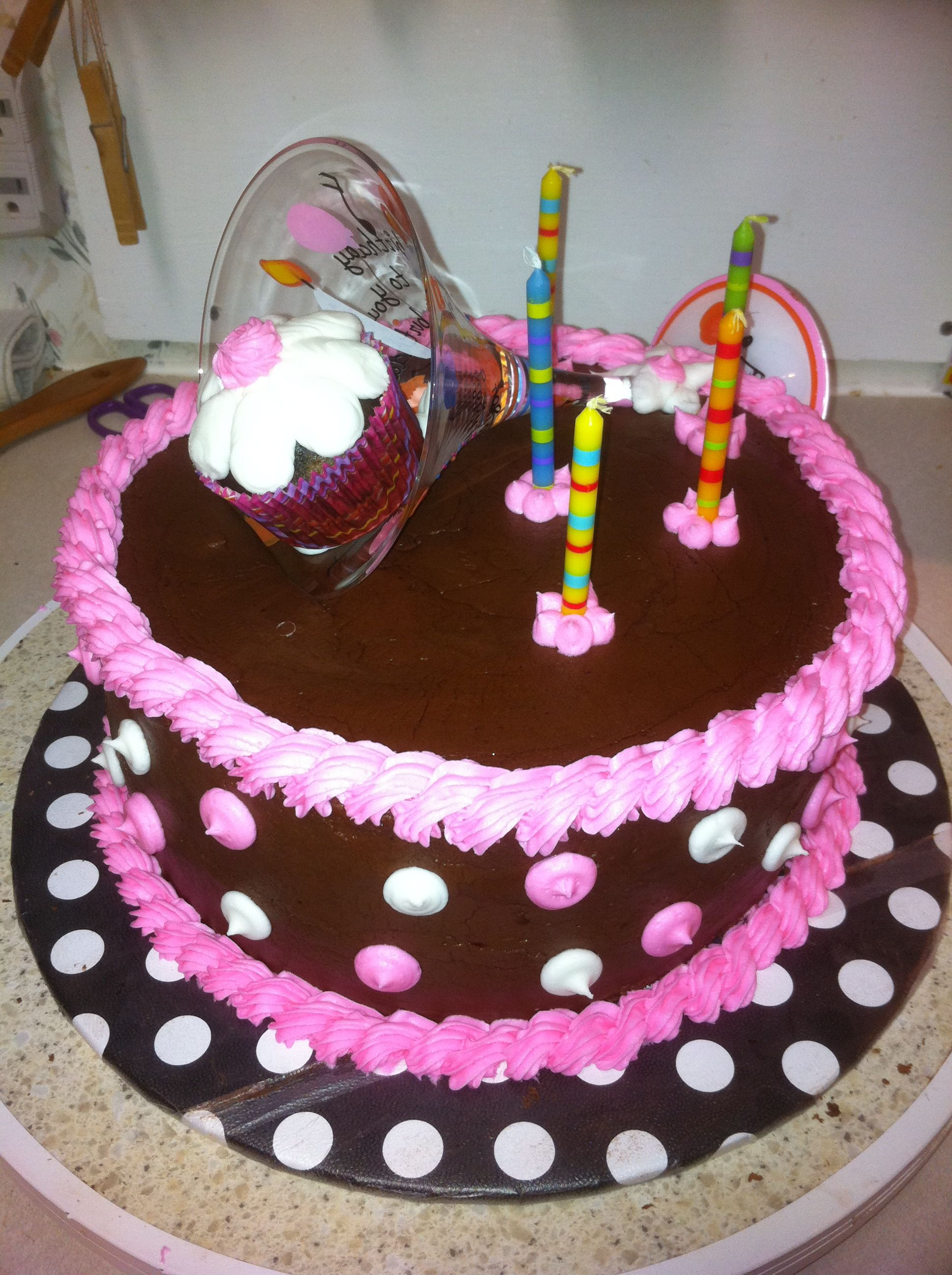 8 Homemade 21st Birthday Cakes For Her Photo 21st