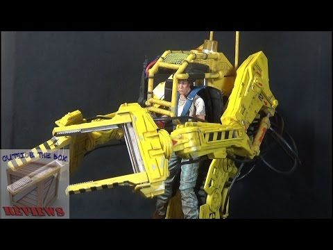 Custom Lego Aliens Powerloader playset - Classic Aliens vehicle. - YouTube