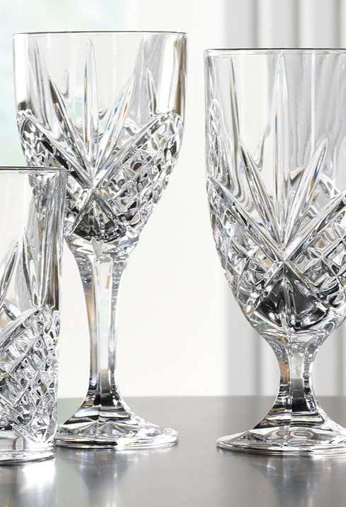 Dublin Crystal Glassware Everyday Entertaining In 2019