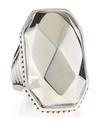 Silver Rocks Large Ring, Size 7 by Lagos at Last Call by Neiman Marcus.