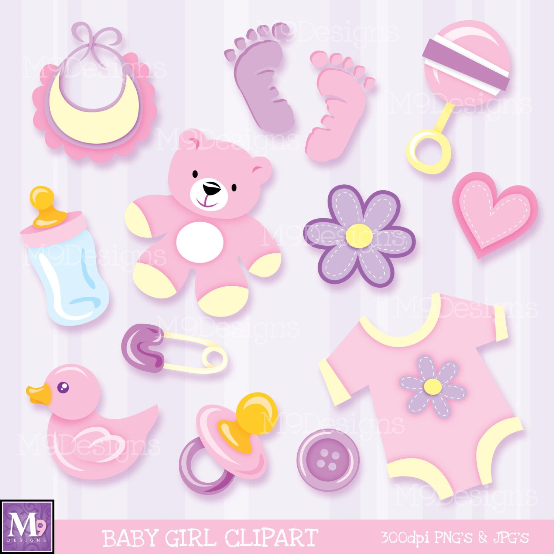 Baby Girl Clipart | Scrapbook❤Children❤Baby♡Nursery | Pinterest
