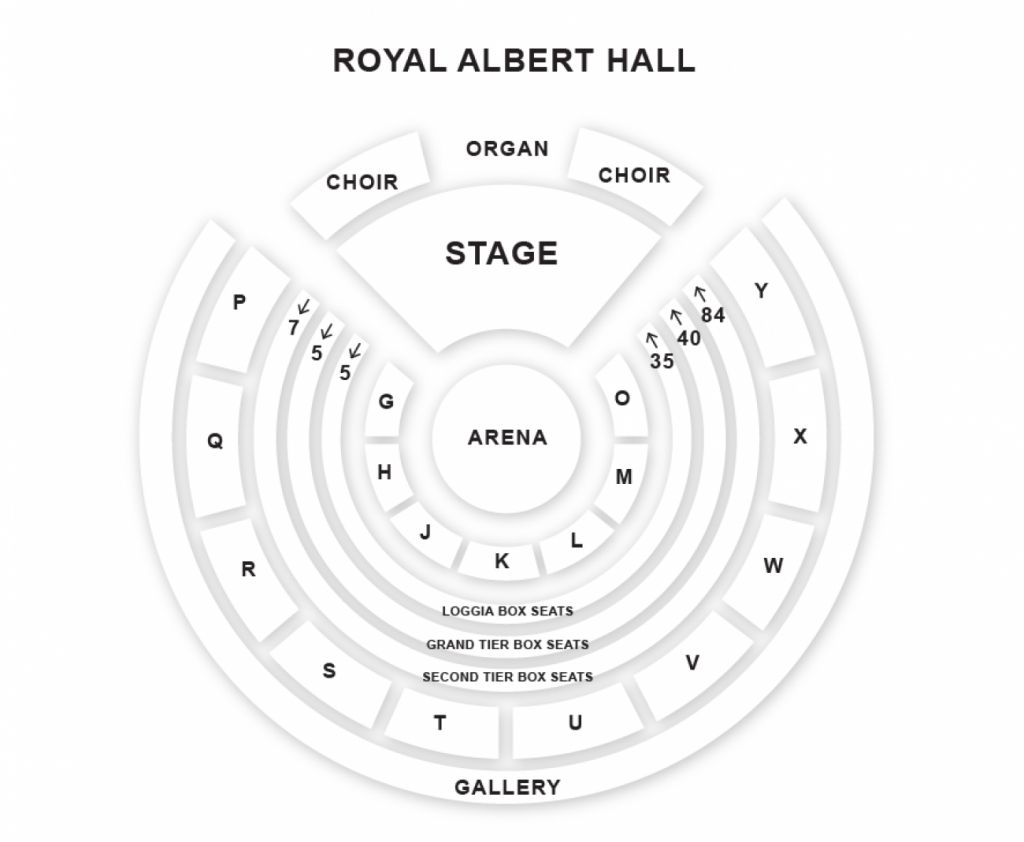 The Most Amazing Royal Albert Hall Seating Plan Seat Numbers
