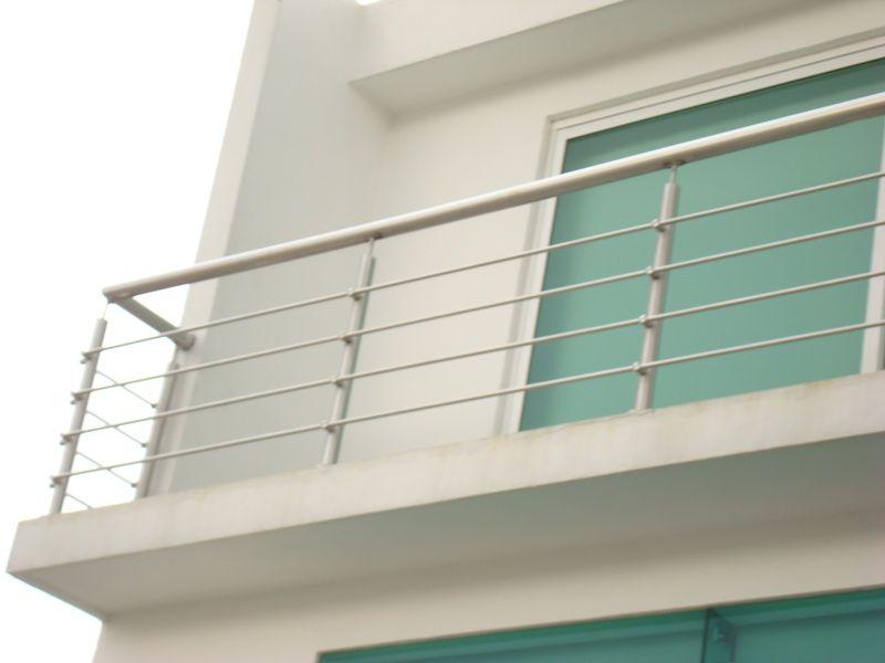 Barandales de aluminio buscar con google barandales - Barandales modernos para escaleras ...