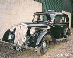 Uk Wolseley Series 3 1940s Wolseley Cars Uk Police Cars