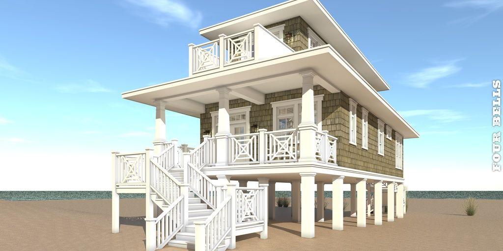 Plan #64-238 - Houseplans For the Home Pinterest Beach