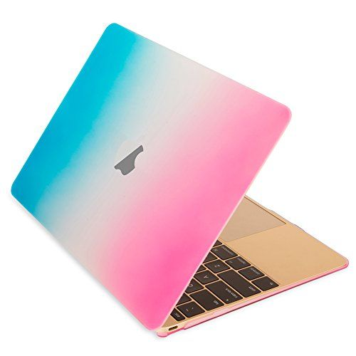 """Mosiso - Retina 12-Inch Rubberized Hard Case Cover for Apple MacBook 12"""" with Retina Display A1534 (2015 NEWEST VERSION) (Rainbow) Mosiso http://www.amazon.com/dp/B00WK71E9C/ref=cm_sw_r_pi_dp_pCVAvb1HBXFWX"""