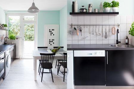 Gut Farbige Wände In Die Küche   Farben Für Mehr Atmosphäre Und Wohnlichkeit