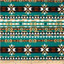 Viva Hatchi Sweater Knit Aztec Teal