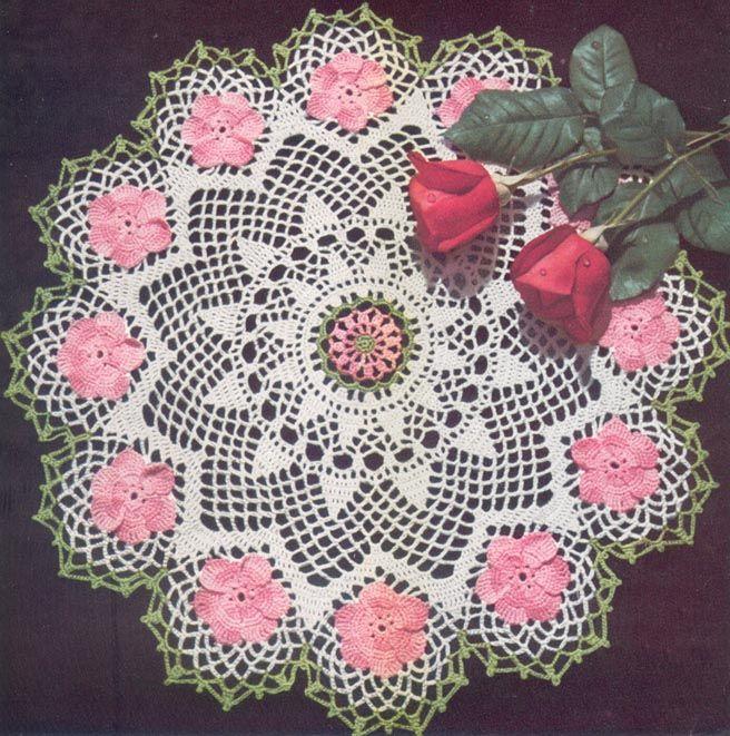Guzel Dantell Rita Pinterest Crochet Doilies And Crochet