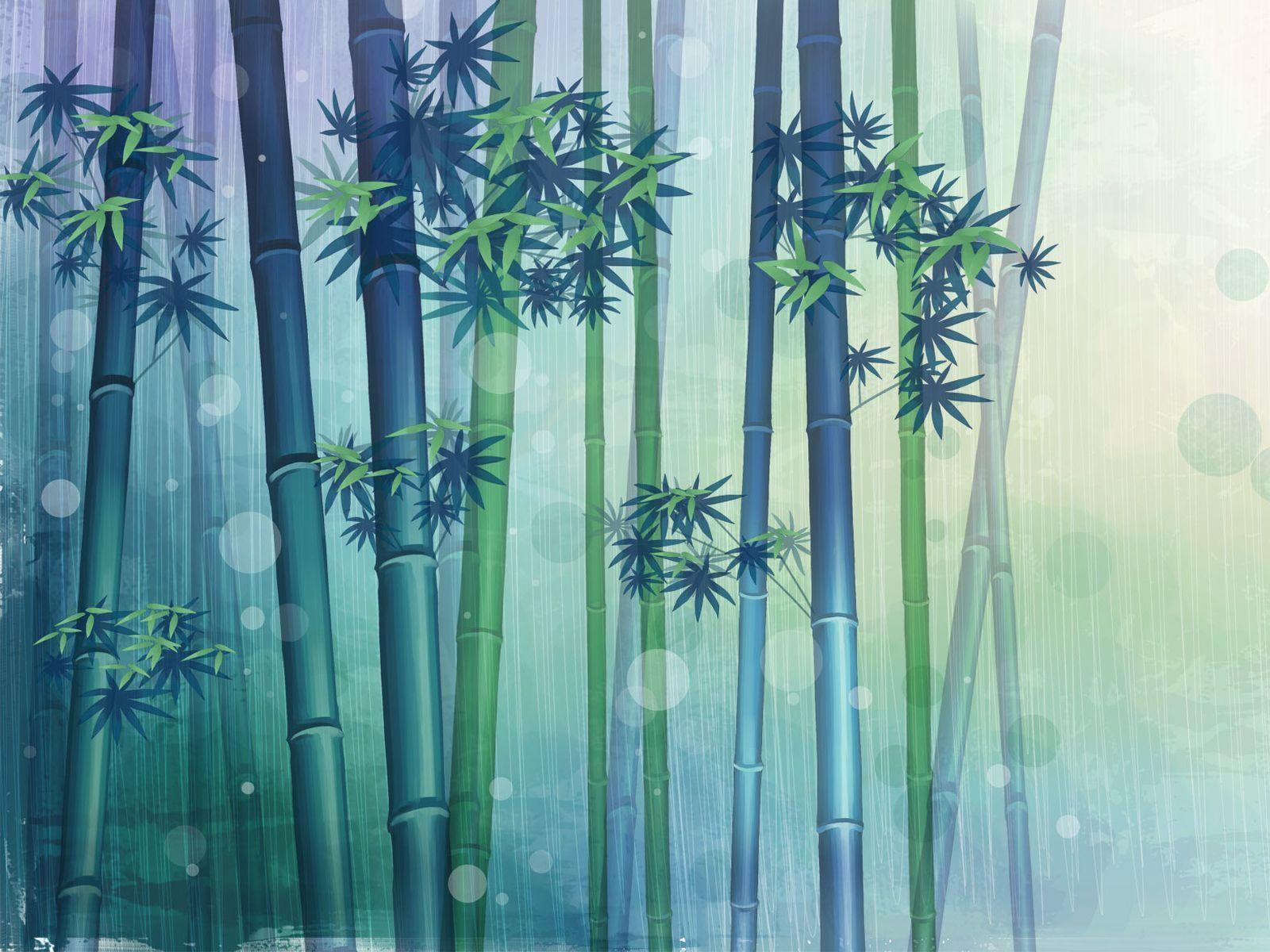 Green Bamboo Wallpaper Bamboo Art Art Wallpaper Wallpaper
